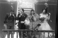 上世纪的水下婚礼