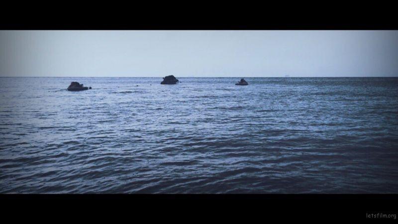海面慢慢躁动起来