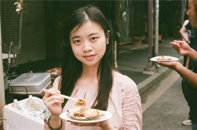 20 日本 筑地市场 游子与扇贝