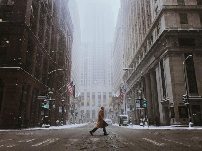 """Blizzard Days"" by Cocu Liu ─ America (美国)"