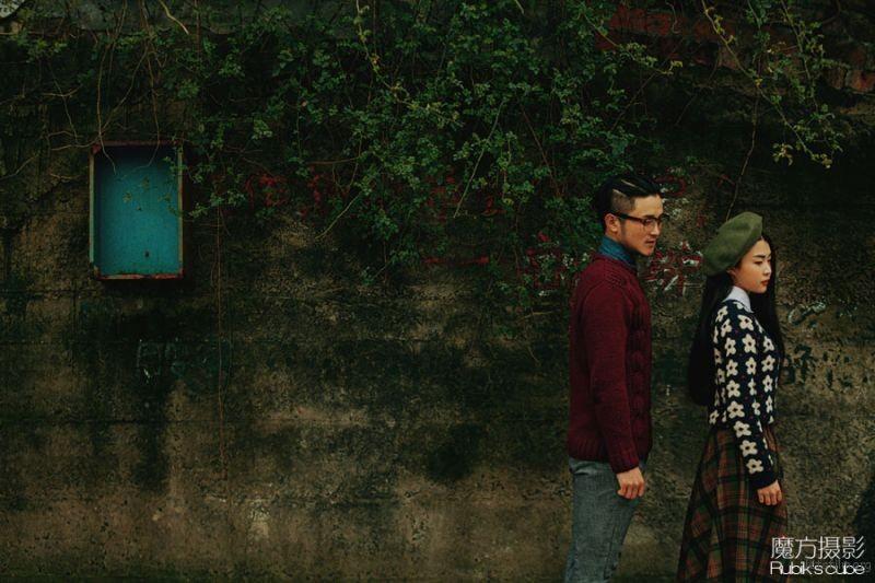 杭州婚纱摄影 魔方摄影工作室 胶片婚纱照 杭州婚纱照 (2)
