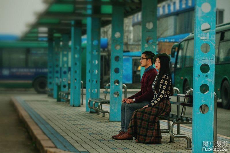 杭州婚纱摄影 魔方摄影工作室 胶片婚纱照 杭州婚纱照 (6)