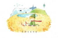 「只有用心去看,你才能看见一切。」插画家所诠释的小王子