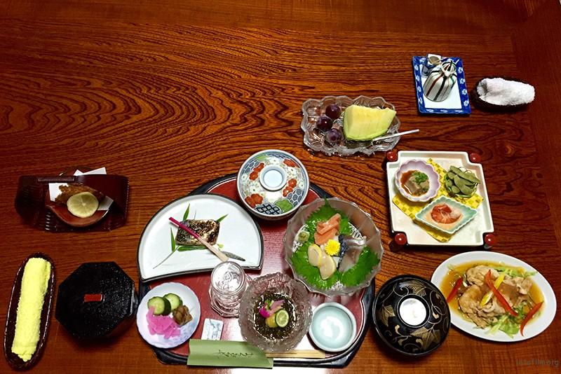 20150803 箱根松坂屋的晚餐1