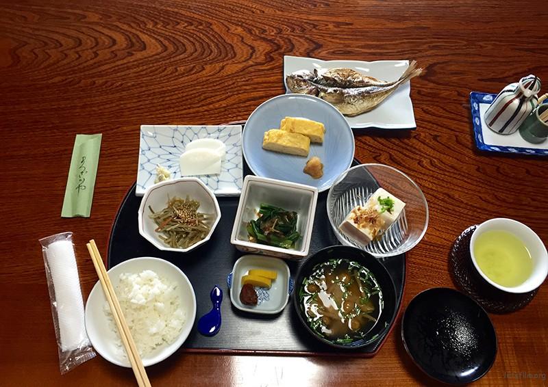20150804 箱根松坂屋的早餐1