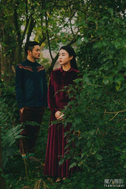 魔方摄影工作室 胶片婚纱照 杭州婚纱照 杭州婚纱摄影 (1)