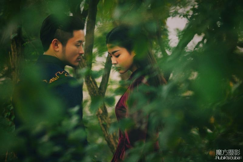 魔方摄影工作室 胶片婚纱照 杭州婚纱照 杭州婚纱摄影 (2)