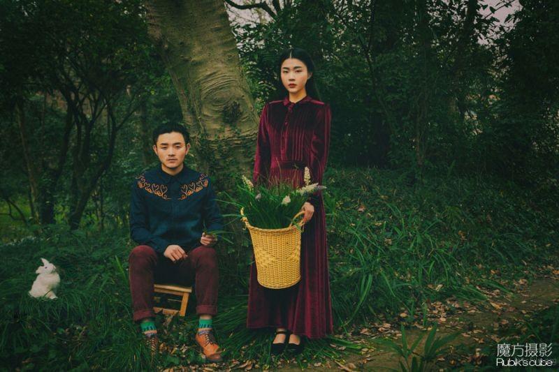 魔方摄影工作室 胶片婚纱照 杭州婚纱照 杭州婚纱摄影 (7)