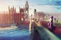 用鲜艳 Low Poly 风格描绘多国的城市意象