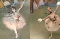 重现名画之美,《时尚芭莎》与摄影师合作拍摄芭蕾舞者