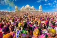 彩色派对的起源 与南亚各国一起欢庆彩色 Holi 吧