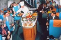 原来飞机餐曾经这么奢华,当年的乘客实在太幸福了!