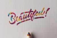 文字不叙事,情愿当美丽的单字