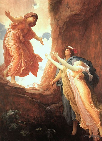 349px-FredericLeighton-TheReturnofPerspephone1891
