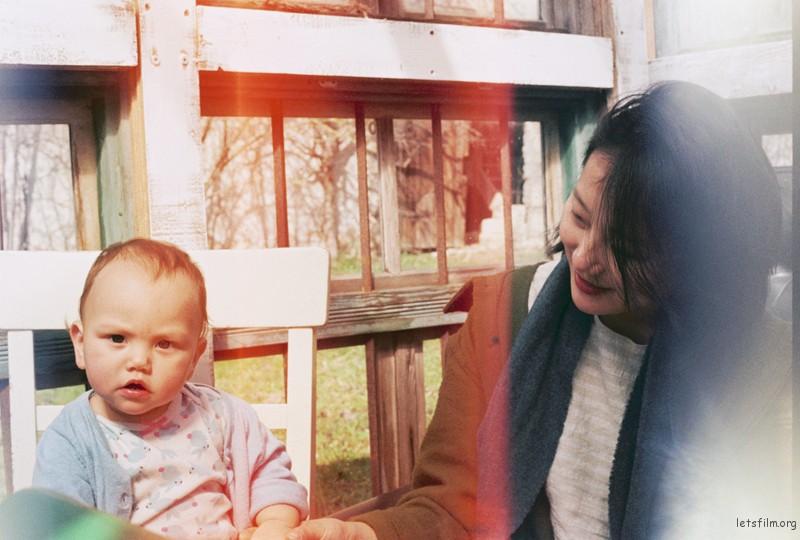 小Audrey与妈妈