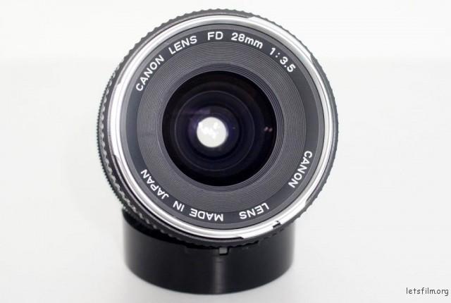 银鼻 Canon FD 28mm f/3.5
