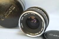 FD系列第一颗28mm广角镜 - 银鼻Canon FD 28mm f/3.5