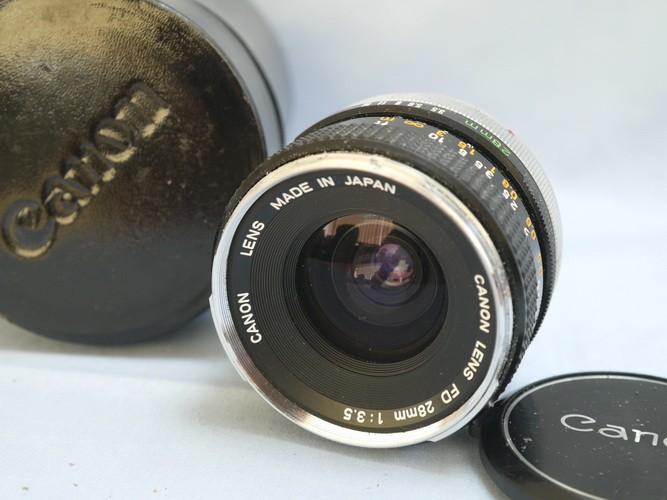 Canon FD 28mm f3.5
