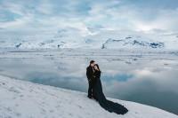 唯美冰岛婚纱照背后的辛酸,新人直呼「快冷死了!」