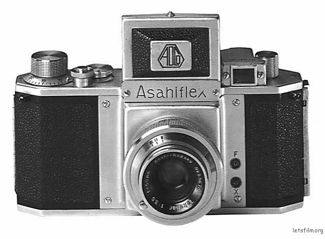 Asahiflex,日本第一台35mm单反相机
