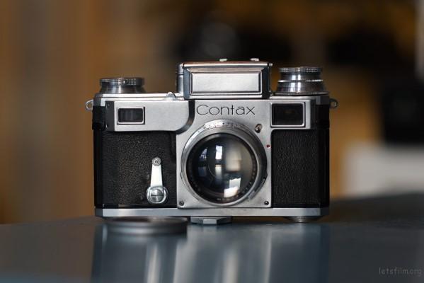 Contax III + Sonnar 1.5 / 5cm