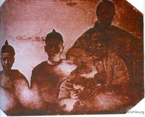中国人像,1844,于勒 · 埃及尔