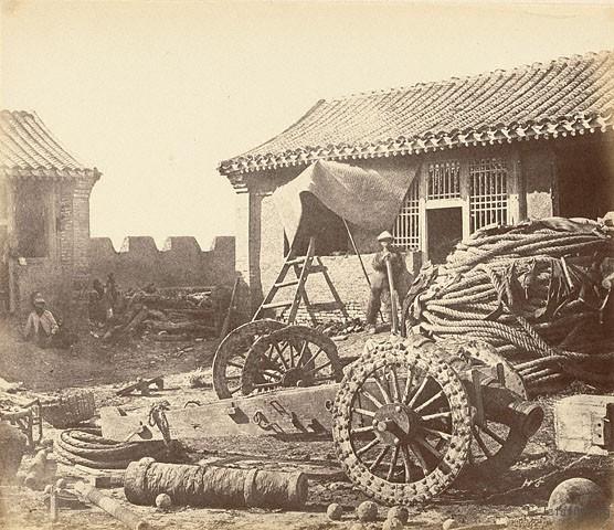 北塘炮台,1860,Felice Beato