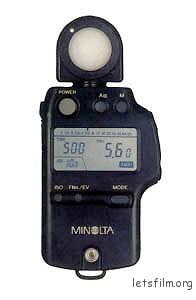 Minolta 手持式测光表,SPD测光元件