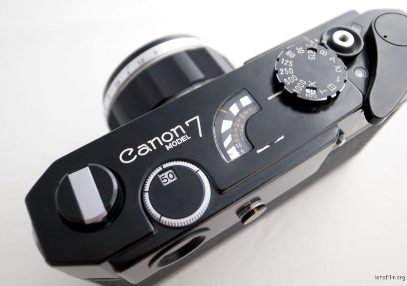 The Canon 7 Black