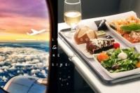 全球15家航空的飞机餐,哪一份是你心中的完美餐点?