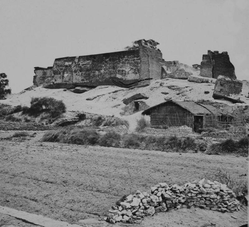 1871年的台湾热兰遮城,由约翰·汤姆生拍摄