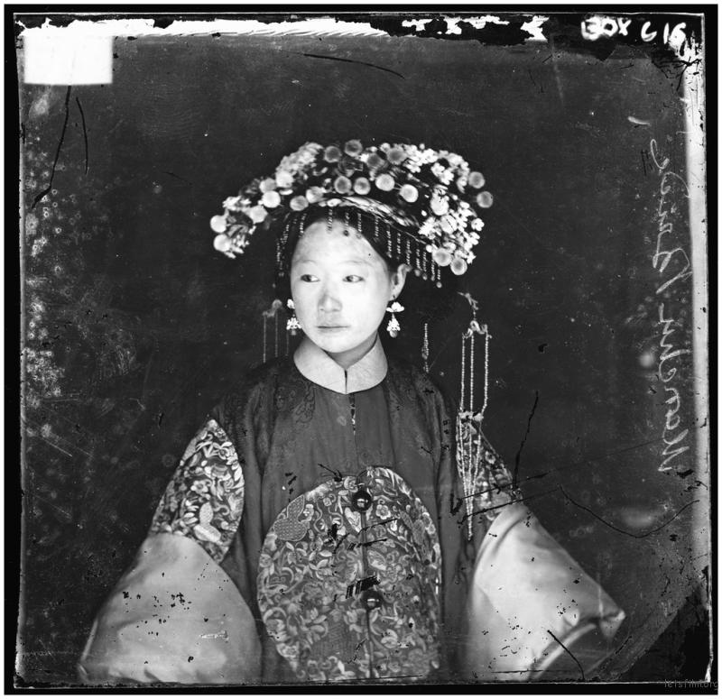 中国的满族新娘,1871年