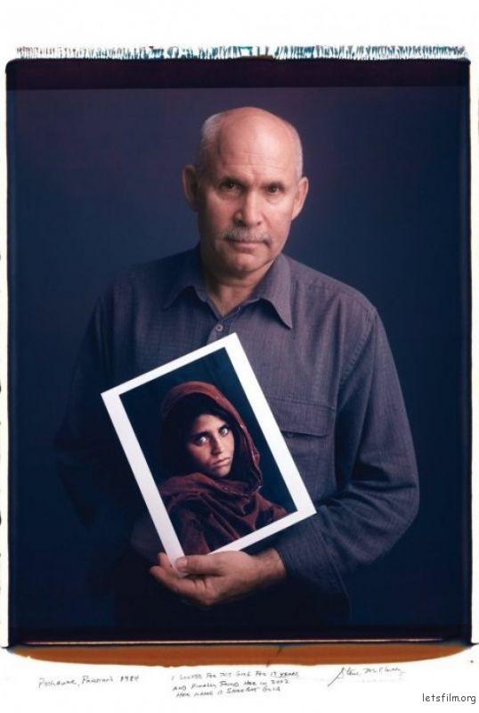 Steve McCurry and Afghan Girl