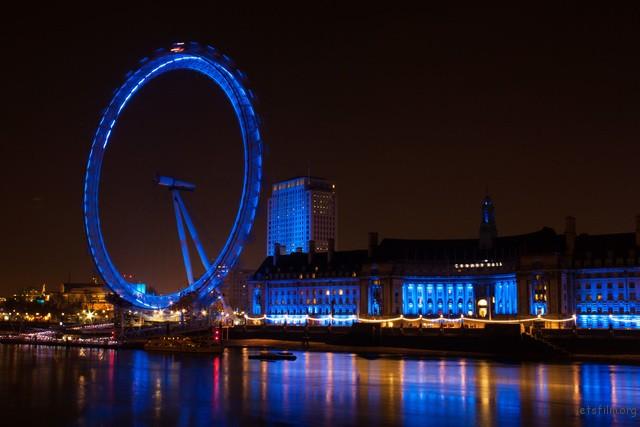 London Eye, Night