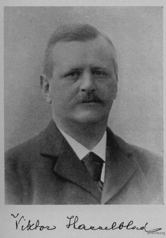 Arvid Victor Hasselblad 1885