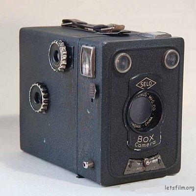 仙乐牌盒式相机