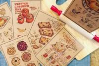 「食」界地图!跟着她手绘的美食插画走遍世界