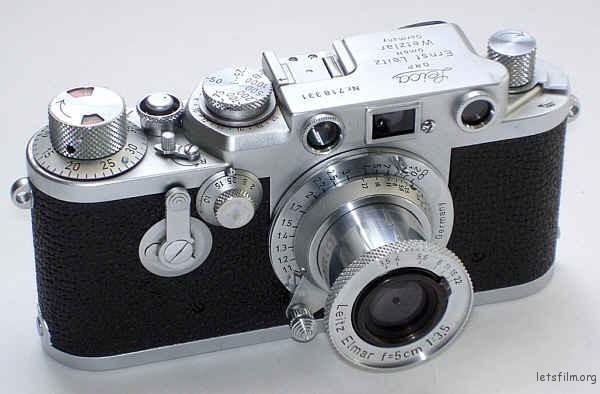 Leica IIIf 自拍版
