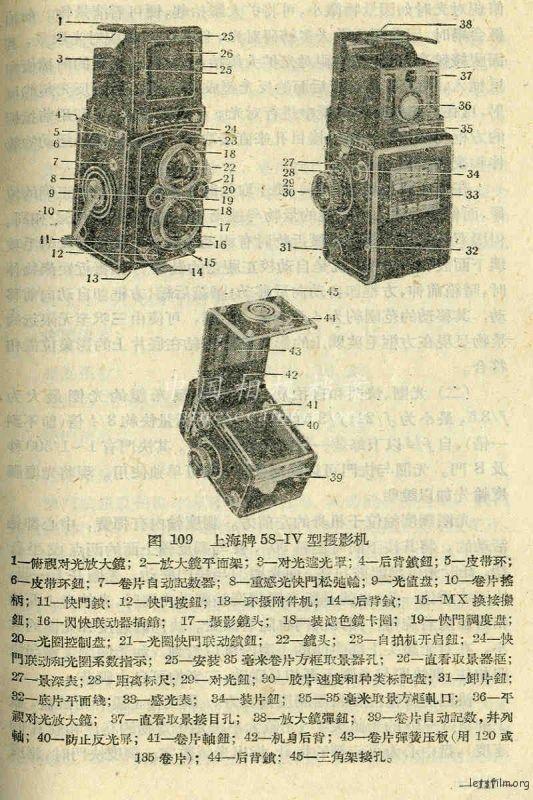 上海 58-IV 型 说明书