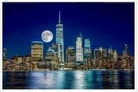 昨晚世界各地摄影师上传的「超级月亮」
