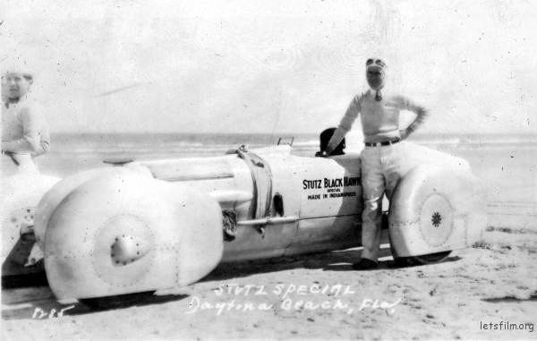 Frank Lockhart 当时测试的新型赛车