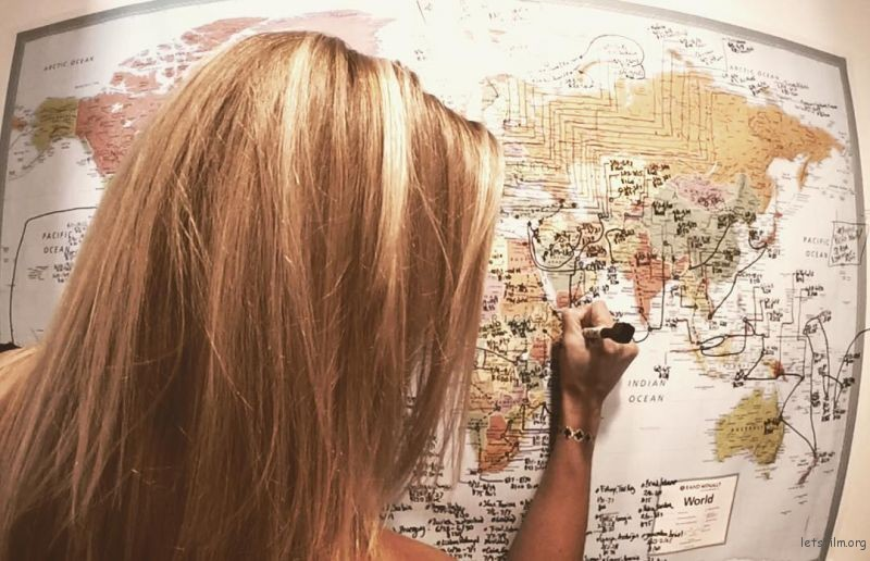 要环游世界,地图自然少不了
