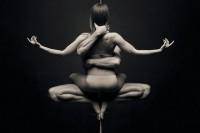 力与美的结合,静止如雕塑般的动态舞蹈摄影作品