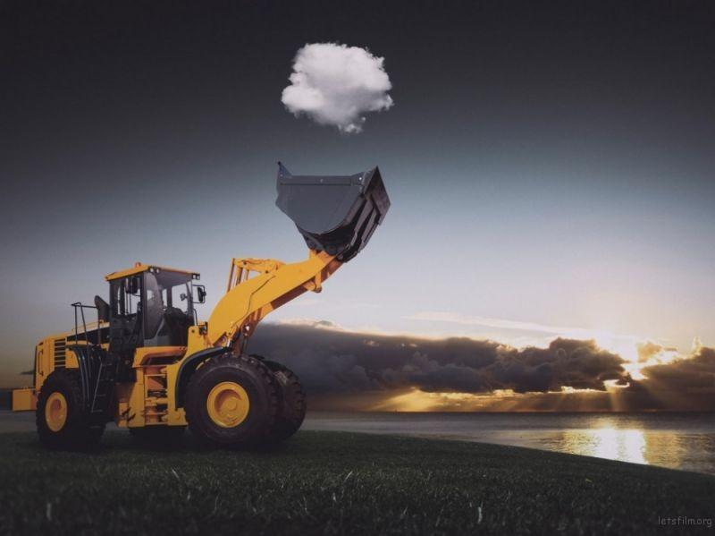 挖起一朵云