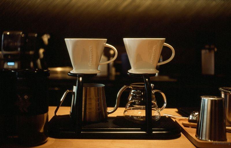 喜欢冲咖啡的过程