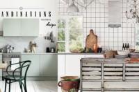 Scandinavian Kitchens Design:爱上烹饪,就从拥有北欧简洁风格厨房开始