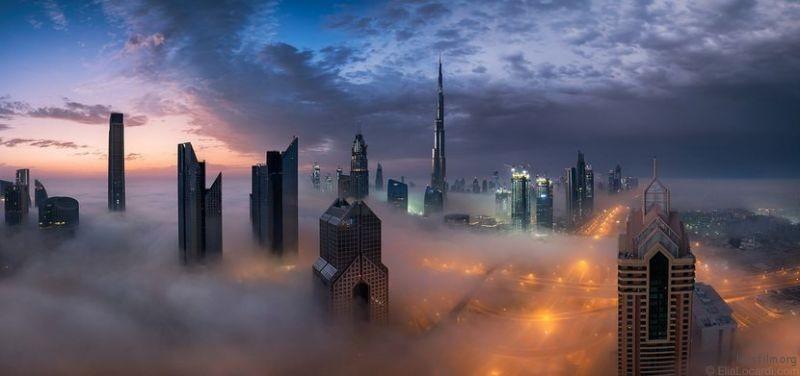 作品︰Tempest || Dubai 摄影师︰Elia Locardi