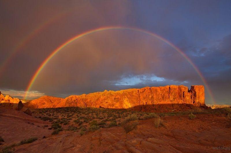 作品︰Rainbow Ridge 摄影师︰Zachary Gertsch
