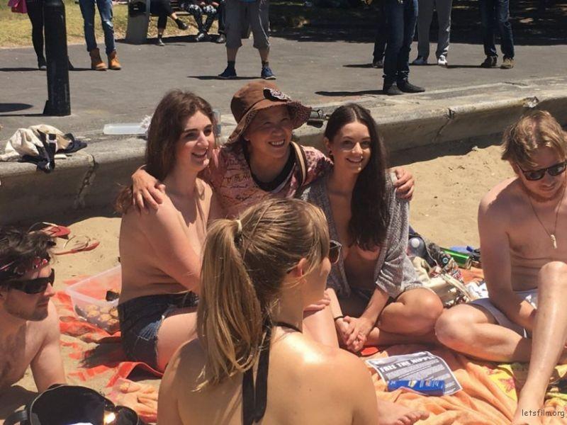 Public beach nudeist girl voyeur video real nude beach