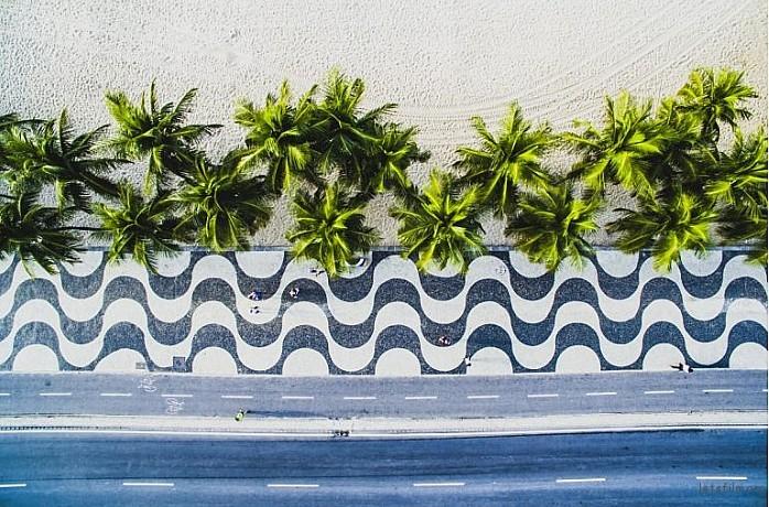 Copacabana, Rio de janeiro, Brazil by Ulysees Padihla